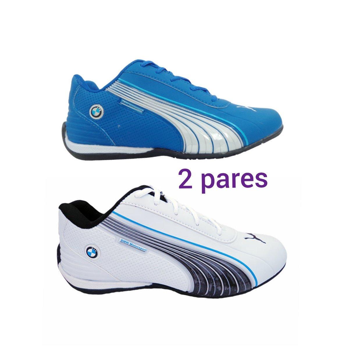 63984da58a2 kit 2 tênis puma bmw motorsport feminino masculino barato. Carregando zoom.