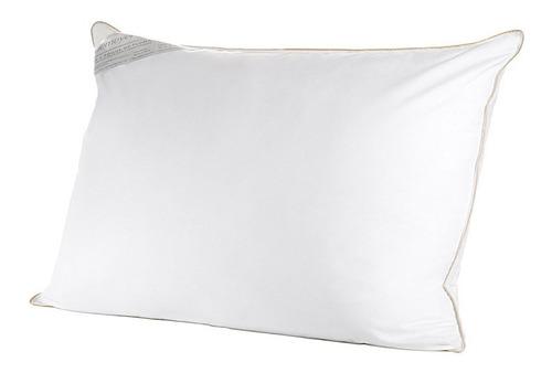 kit 2 travesseiros toque de pluma 50x70cm branco buddemeyer