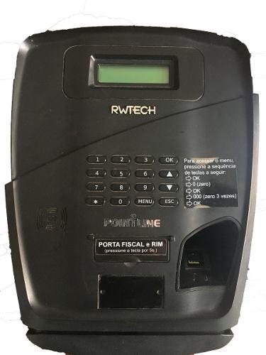 266189c30d3 Kit 2 Unid Relogio De Ponto Pointline Rwtech Homologado Mte - R ...