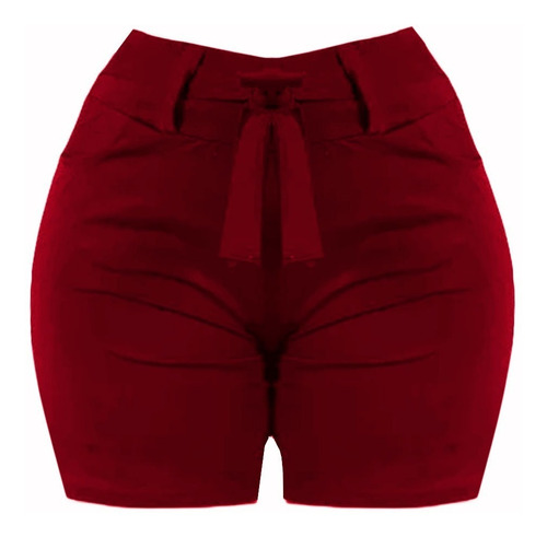 kit 2 unid. shorts com faixa plus size