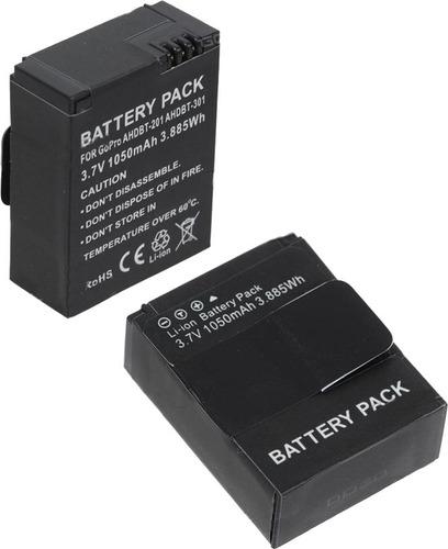 kit 2 unidades bateria ahdbt-302 gopro hero3 / gopro hero 3+