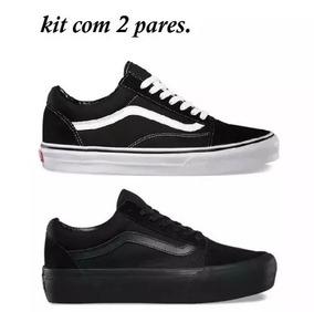 73998204f3 Tenis Que Muda De Cor Vans Old Skool - Tênis para Feminino Preto no Mercado  Livre Brasil
