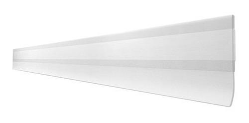 kit 2 veda portas 80 cm ajustáveis universal transparente