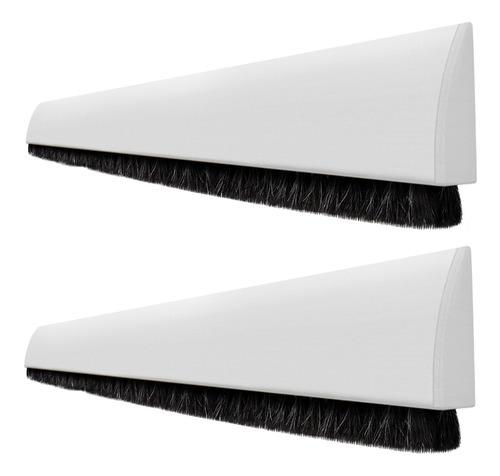 kit 2 veda portas adesivo 90 cm ajustáveis universal branco