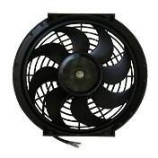 kit 2 ventoinha condensador 10 polegadas 12v s10 frontier