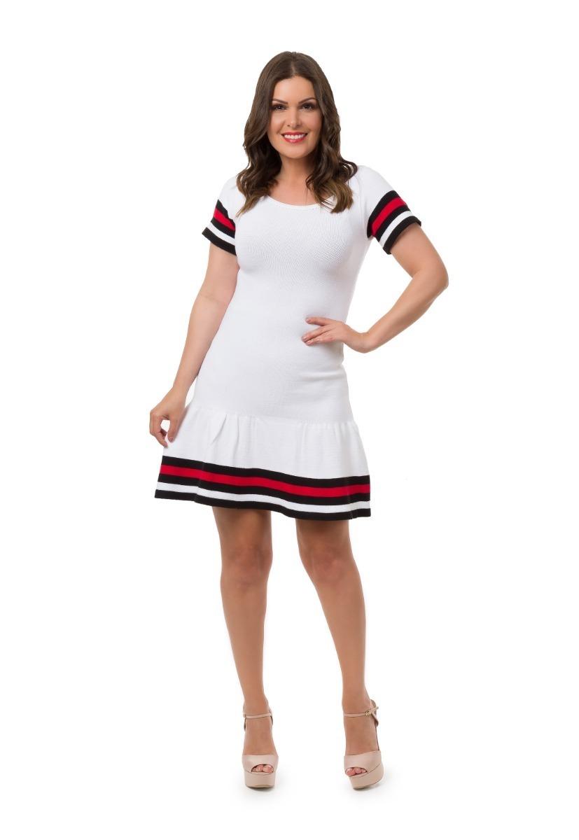ad3daa0e5 kit 2 vestidos colegial curto moda tumblr tricot tricô 5030. Carregando  zoom.