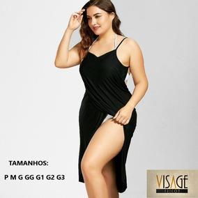 ad27c564b Saida De Praia Plus Size G E Gg - Calçados, Roupas e Bolsas com o Melhores  Preços no Mercado Livre Brasil