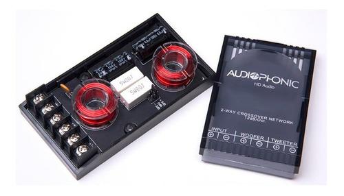 kit 2 vias club - kc 6.3 - audiophonic