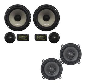 Kit 2 Vias Sensation Audiophonic Ks 6 2 6 5 + Coaxial 5 Pol