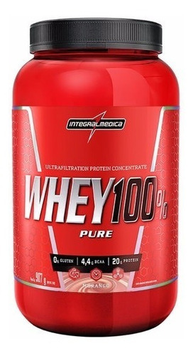 kit 2 whey 100% 907g integralmédica + dilatex + bcaa procorp