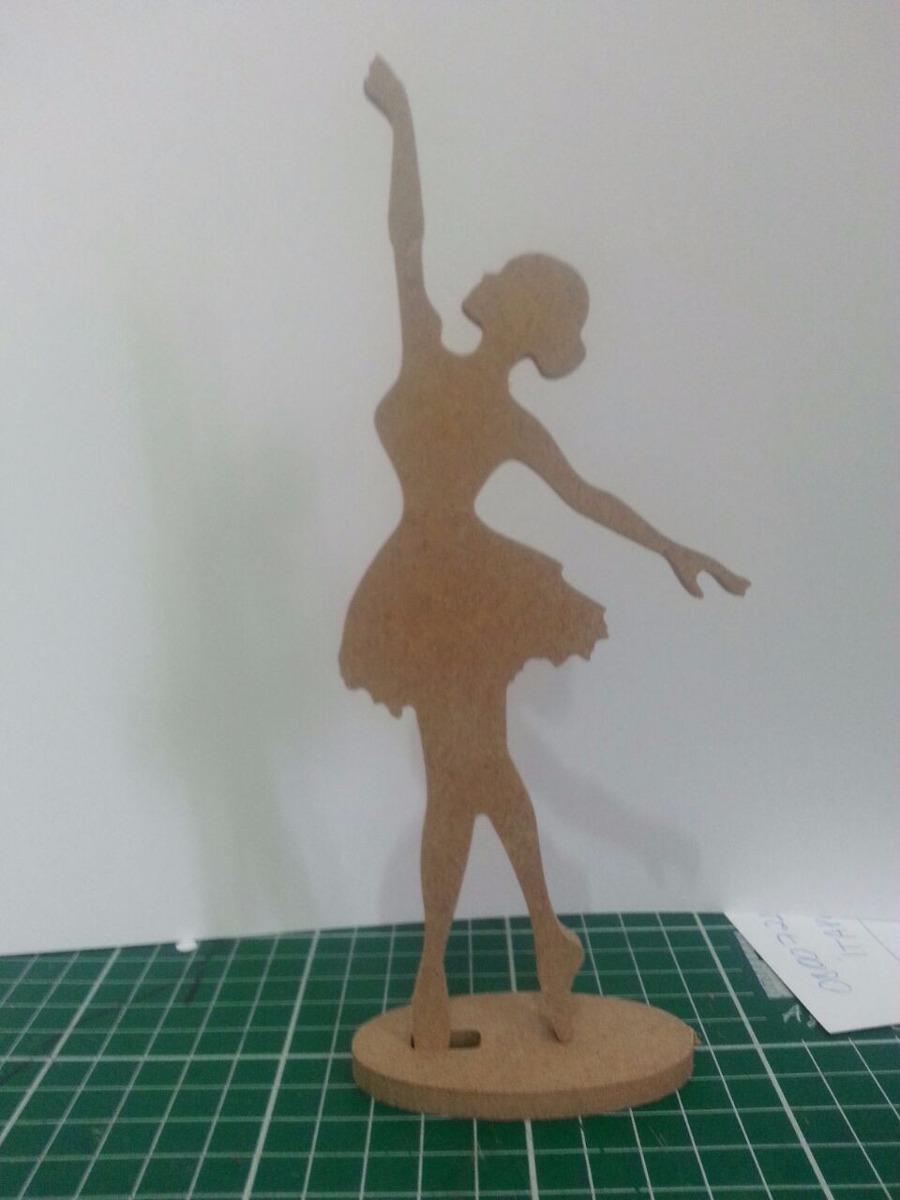 38f21a0d36 kit 20 bailarinas com 15 cm em mdf cru de 6mm festa menina. Carregando zoom.