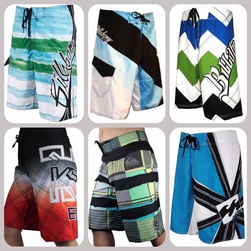 kit 20 bermuda shorts tactel de marca atacado revenda