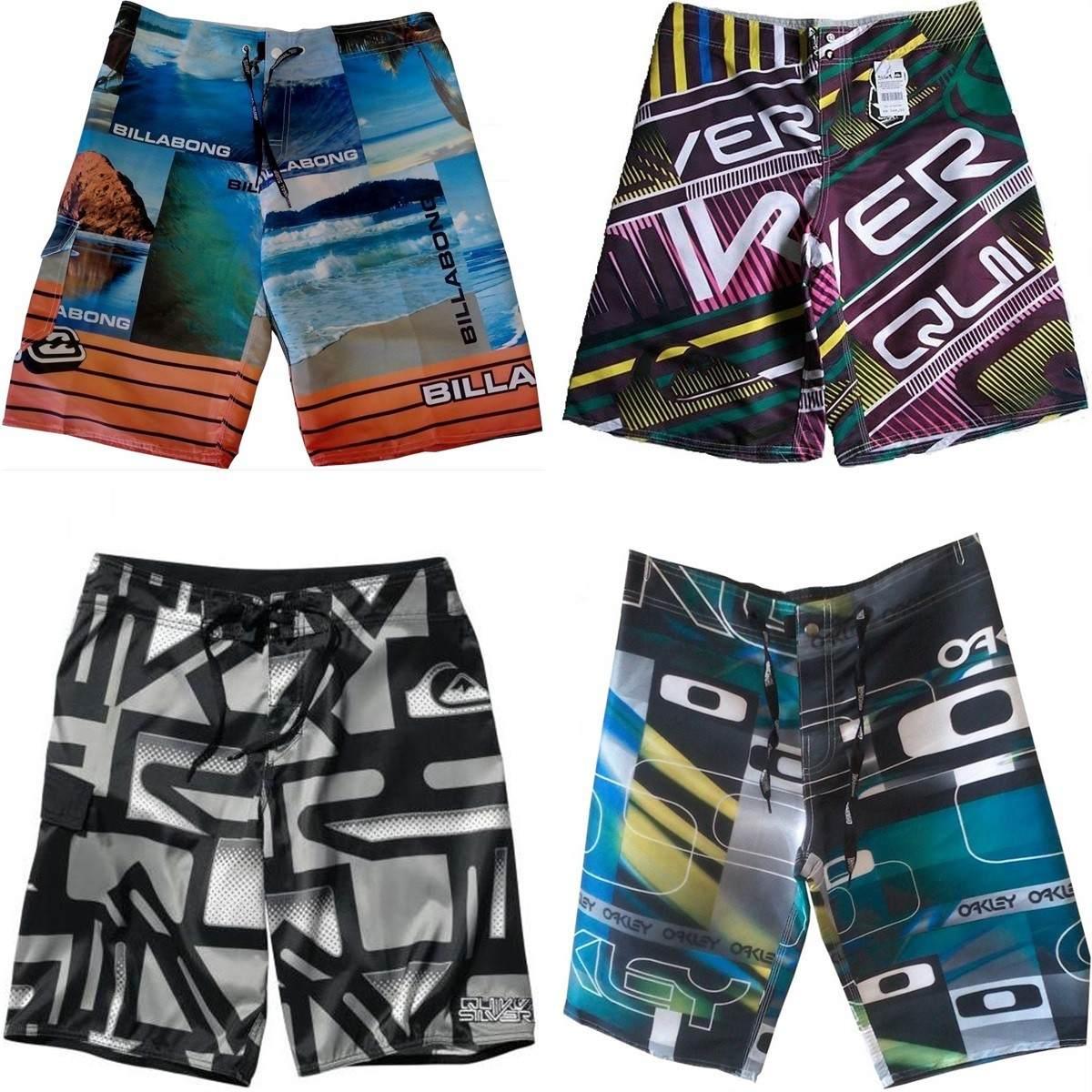 Kit 20 Bermuda Shorts Tactel Surf Praia 36 Á 52 - R  334 1305ec174a2