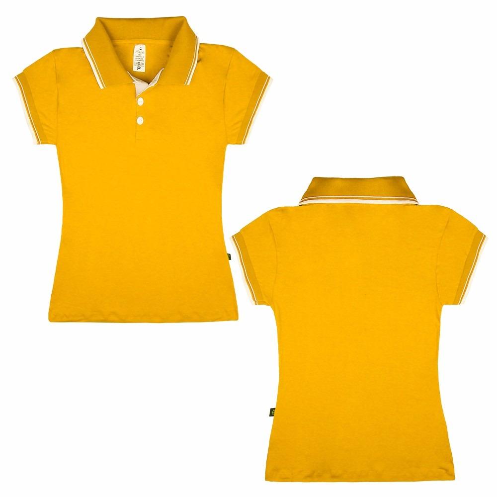 kit 20 blusas uniforme camisa polo feminina farda atacado. Carregando zoom. 44394abcf49aa