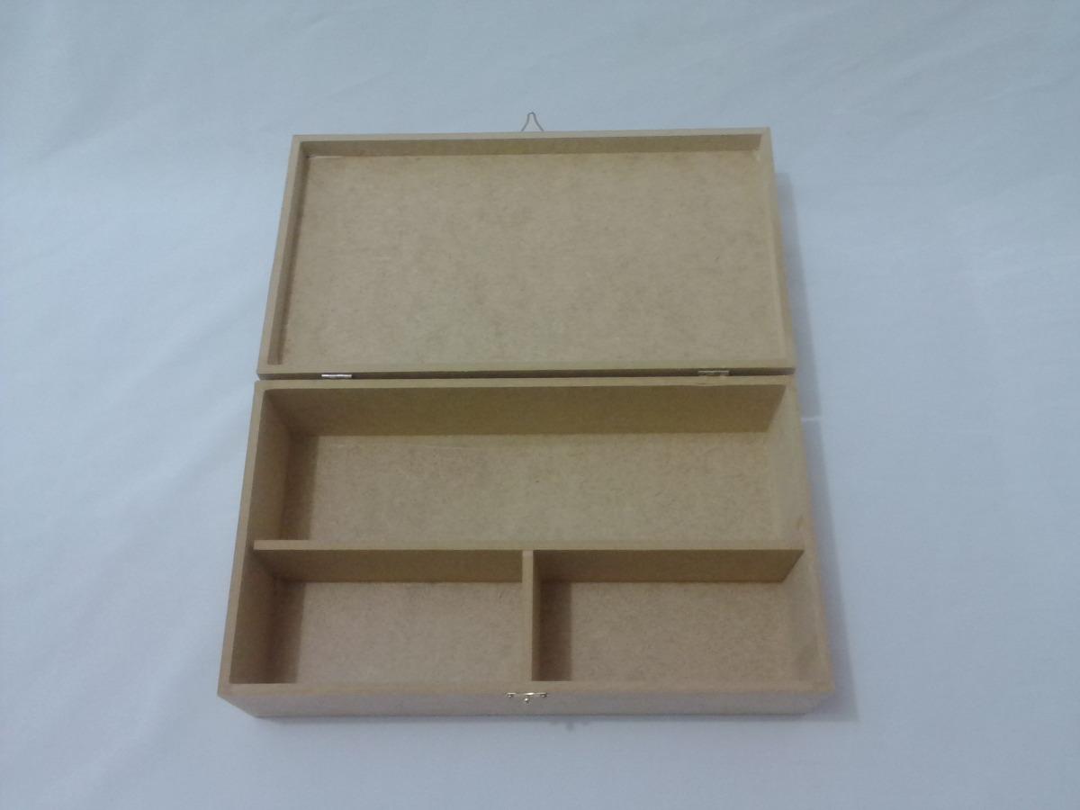 Artesanato Reciclavel Com Cd ~ Kit 20 Caixas 35x20x10 Mdf Cru C Dobradiça Para Vinho R$ 318,90 em Mercado Livre