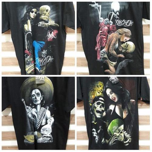 kit 20 camisa camiseta blusa ogabel thug nine masculina