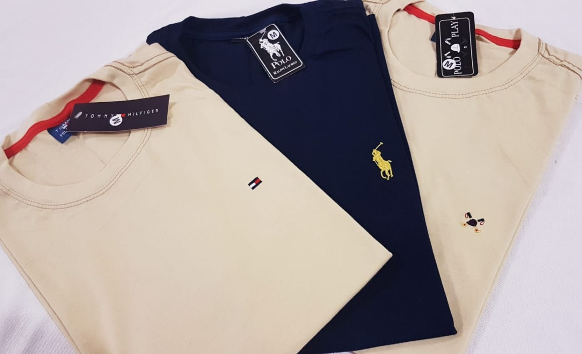kit 20 camisas premium lisa marcas famosas revenda atacado. Carregando zoom. f6f00affb38