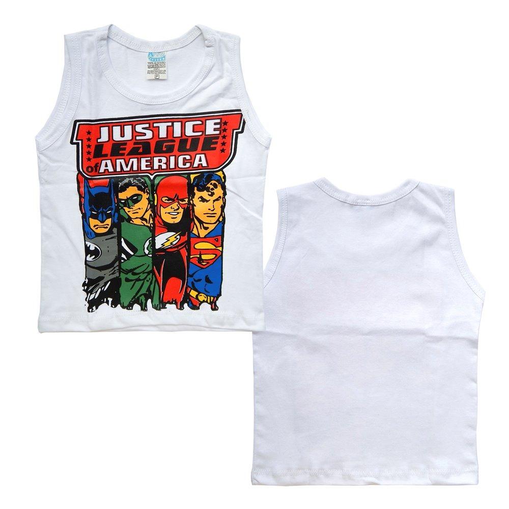 kit 20 camiseta regata infantil super herois personagens. Carregando zoom. b4a148fb70b