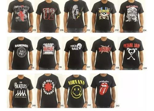 kit 20 camisetas masculina. escolha as estampas