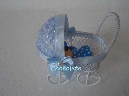 kit 20 carrinho  lembrancinha maternidade nascimento menino