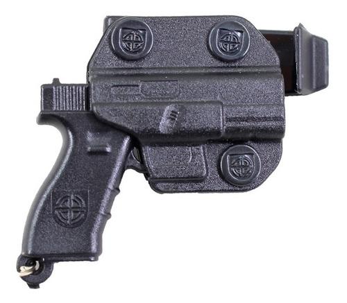kit 20 chaveiros personalizado com formato de pistola