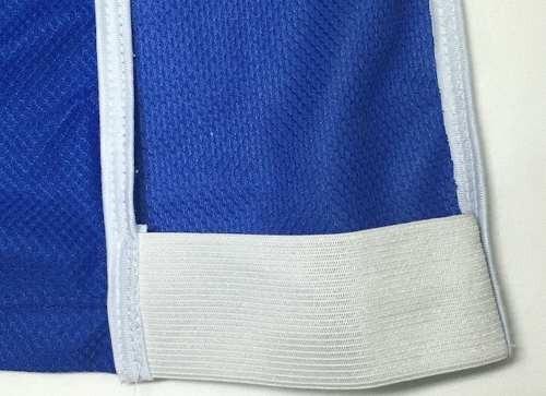 kit 20 coletes de futebol azul vermelho face única uma cor