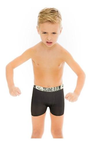 kit 20 cuecas box boxer infantil microfibra cartela desenhos