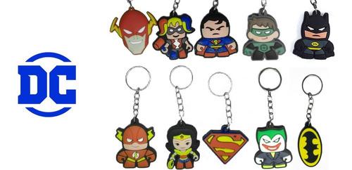 kit 20 diversos chaveiros borracha (super heróis filmes hqs)