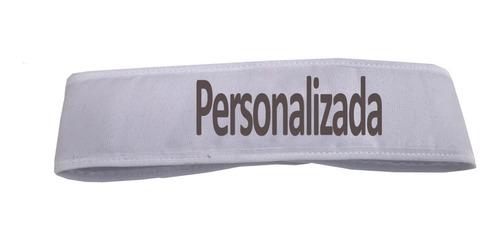 kit 20 faixa de cabelo personalizada