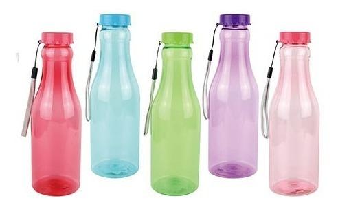 kit 20 garrafa squeeze de plástico p/ lembrança festa 600ml