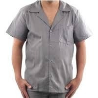 kit  20 jalecos uniforme profissional  cinza p/ frentista