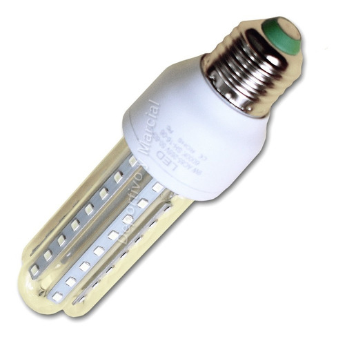 kit 20 lamparas tubos efficient led 9w = 70 watts cuotas