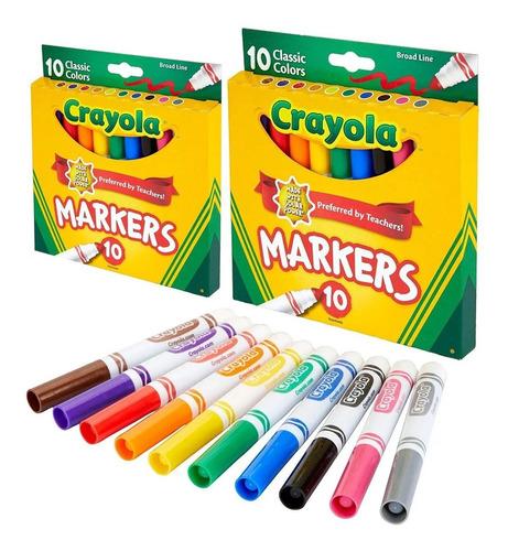 kit 20 marcadores canetinhas infantil cores vivas