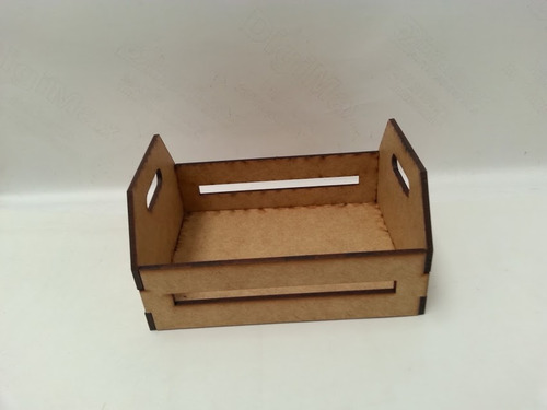 kit 20 mini caixote mdf  cru 3 mm laser 7x6x5cm