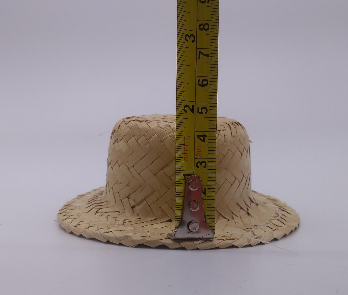 kit 20 mini chapéu palha e 20 chapéu boneca enfeite de festa. Carregando  zoom. 11bbe69907e