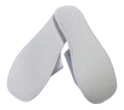kit 20 pares chinelos pantufa descartável tnt mod1019