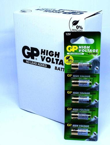 kit 20 pilha bateria 23a 12v gp super controle alarme portão