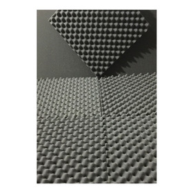 Kit 20 Placas 35mm 5 M² Espuma Acustica Anti Chamas