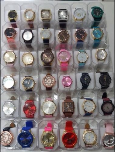 73607cd1e53 Kit 20 Relógios Fem masc + Caixas - Revenda Preços Baixos - R  319 ...