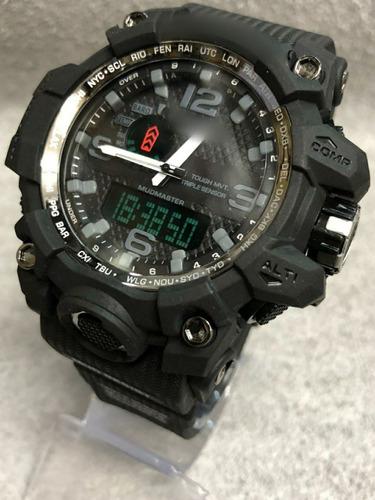kit 20  relógios militar atacado com caixinha