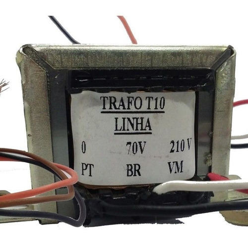 kit 20 trafo audio linha t10i sonorização ambientes | frahm