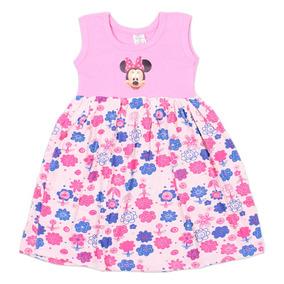 aa2962c0ef2ba6 Kit 5 Vestidos Estampado Personagem Infantil Menina Princesa
