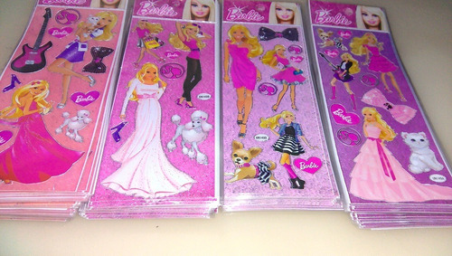 kit 200 cartelas adesivos stickers pokemon princesas ladybug