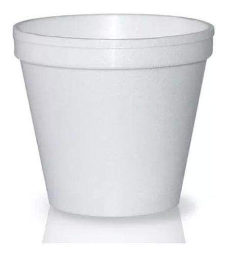 kit 200 copos isopor + tampa 300ml 400 ml 500ml 700 ml