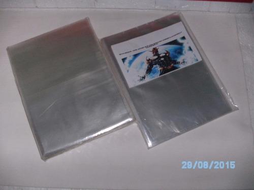 kit 200 sacos polipropileno mangá jbc 13x20x0,8mm exclusivo!