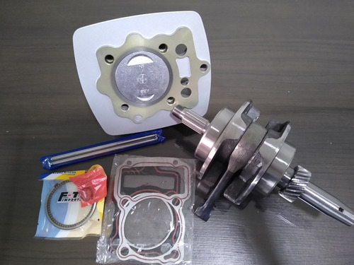 kit 200cc cilindro + virabrequim 62.2mm