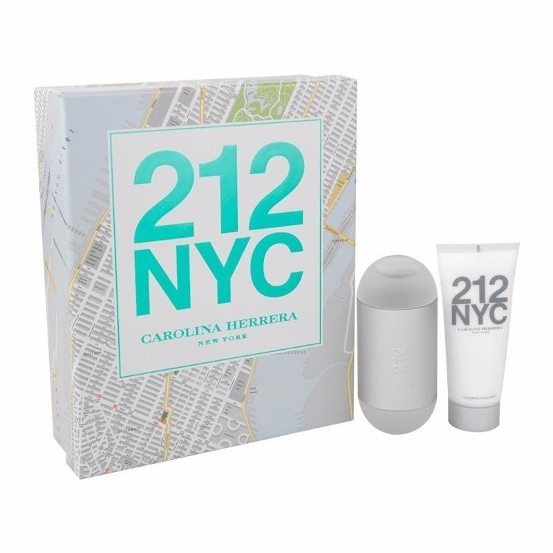 1c81fb1bc Kit 212 Nyc Perfume 100ml + Hidratante 100ml Feminino - R  365