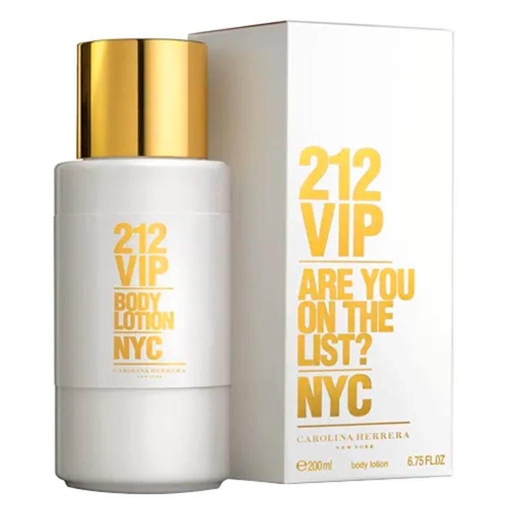 fad768e85c kit 212 vip carolina herrera - eau de parfum + body lotion k. Carregando  zoom.