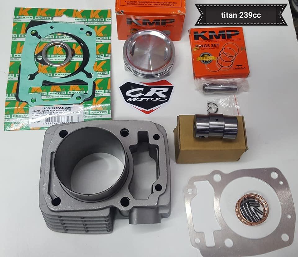 Kit 239cc Honda Xr 150l 150 Kmp Cr Motos - $ 7.968,00 en Mercado Libre