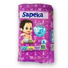 33762148e Boneco Promocional Fraldas Sapeka no Mercado Livre Brasil